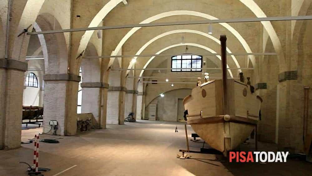 L 39 apertura del museo delle navi antiche di pisa - Di tommaso mobili ...