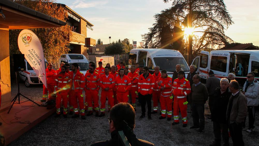 Inaugurata la sede della Sezione Lungarno della Pubblica Assistenza di Pisa