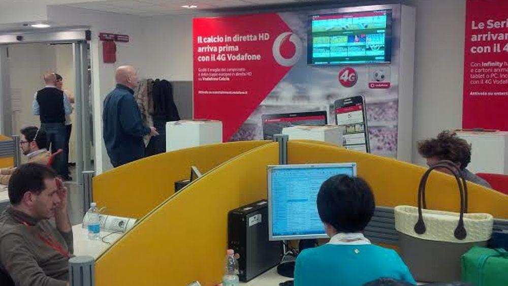 Ufficio Legale Vodafone : Inaugurazione sede vodafone a pisa