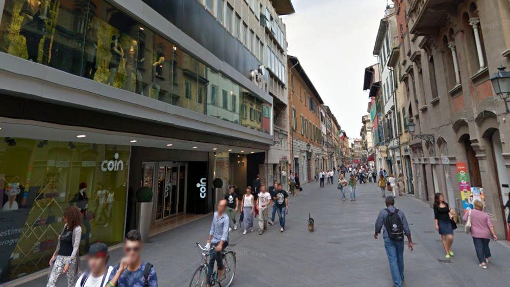 Aggressione di una donna in corso italia a pisa 22 for Corso di arredatore d interni roma